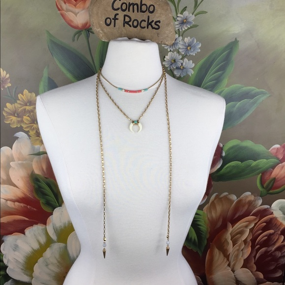 Stella & Dot Jewelry - Stella & Dot & Rebecca Minkoff 4 in 1 Necklace